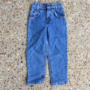 Vintage Orange Tab Levi's denim jeans